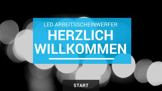 Herzlich Willkommen auf LED-Arbeitsscheinwerfer-Info.de